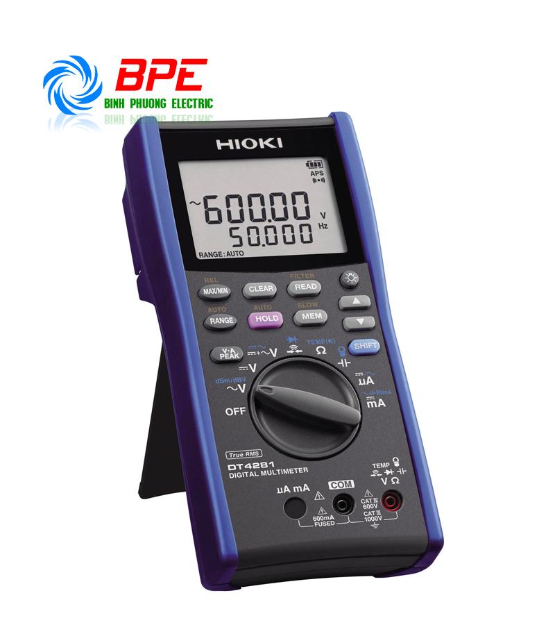 Đồng hồ đo điện Hioki DT4281