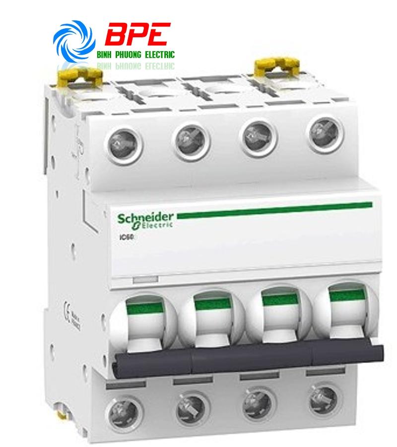APTOMAT MCB - ACTI9 IC60N 63A, 4P, 6KA, 400V