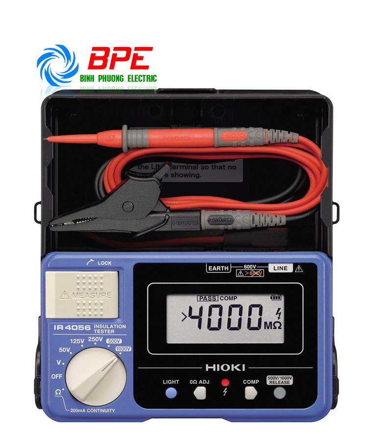 Thiết bị Kiểm tra Điện trở cách điện Hioki IR4056-20